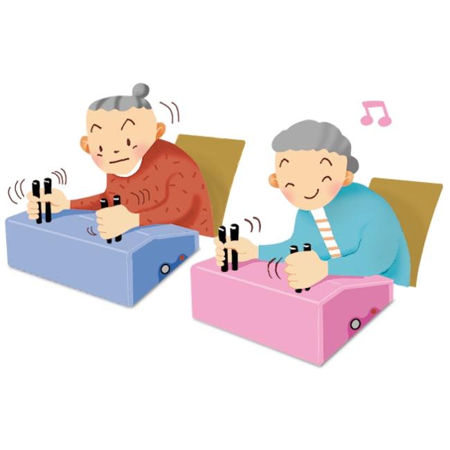 高齢者にも優しい簡単操作