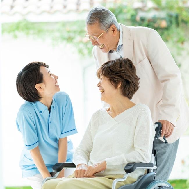 高齢者ケアに調和をもたらす
